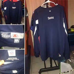 New England Patriots Long Sleeve Jersey Shirt XXL